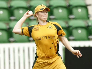 Alex Blackwell recently became the fourth Australian female cricketer to complete 5,000 international runs. Reuters