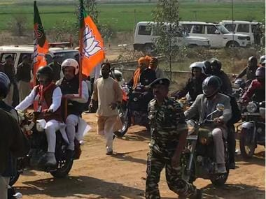 Amit Shah's Jind bike rally as it happened: BJP chief says party will form governments in two more states