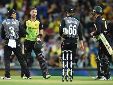 Glenn Maxwell and Chris Lynn were at their destructive best as Australia beat New Zealand at Sydney. AFP