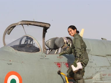 Avani Chaturvedi is first Indian woman to fly fighter aircraft solo: 27-yr-old was commissioned flying officer in 2016