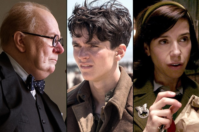 The Cold War-era movie has 12 nominations, while crime drama Three Billboards Outside Ebbing, Missouri and Darkest Hour, about British wartime leader Winston Churchill, each have nine.