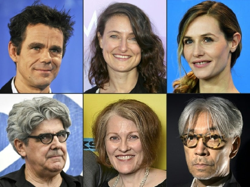 This year's Berlinale jurors are German director Tom Tykwer, US producer Adele Romanski, Belgian actress Cecile de France, Spanish director Chema Prado, US film critic Stephanie Zacharek and Japanese musician Ryuichi Sakamoto. AFP/File / John MACDOUGALL, Frederick M. Brown, TIZIANA FABI, Mike Windle, JOEL SAGET