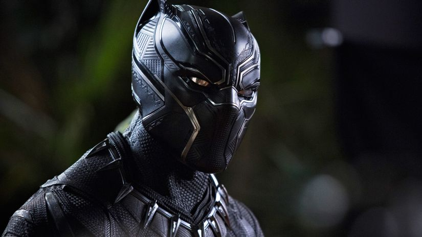 A still from Black Panther. Marvel