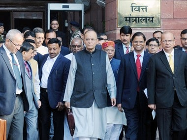 Arun Jaitley presented his final full Budget before the Lok Sabha elections. Image courtesy: PIB