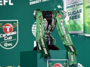 The EFL Carabao Cup. AFP