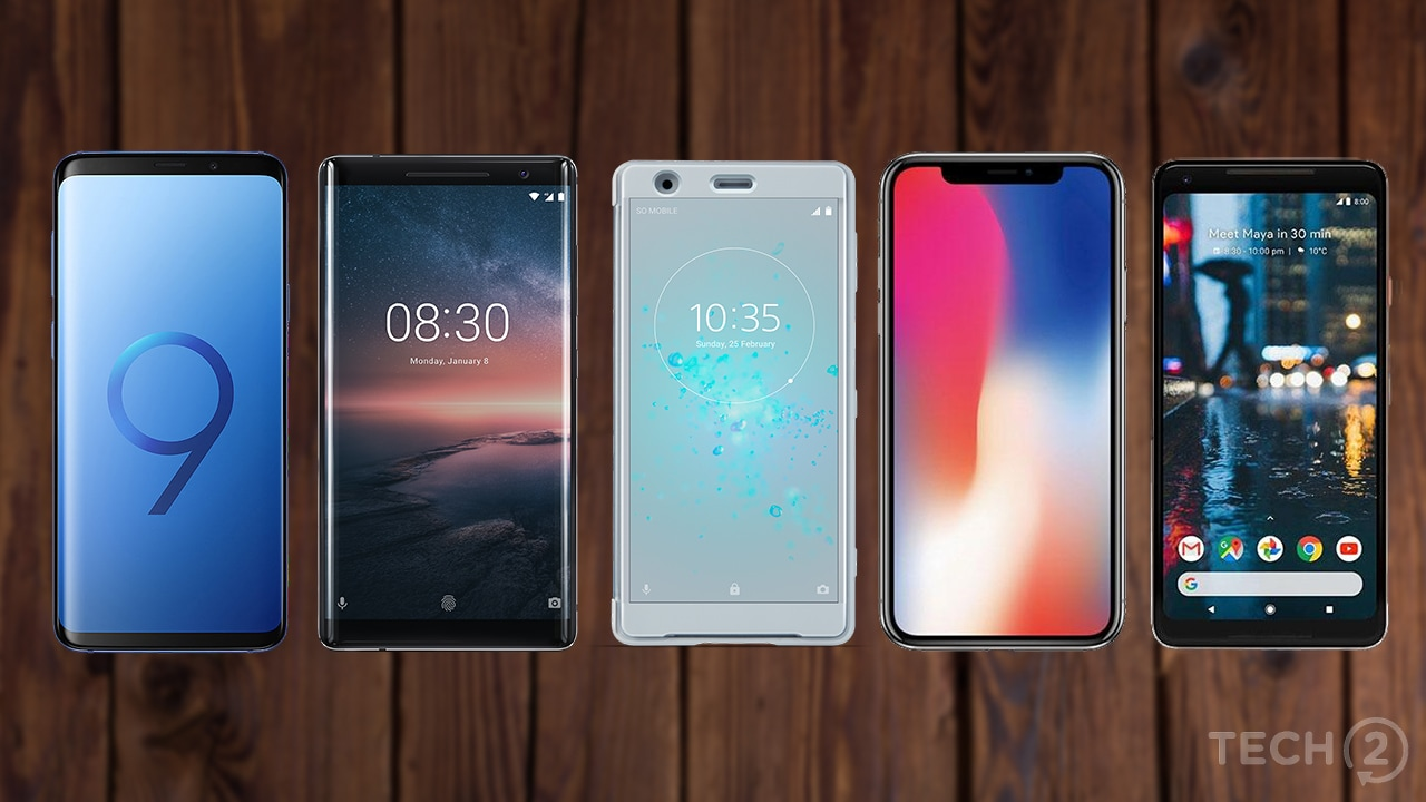 Samsung Galaxy S9 Plus vs Sony Xperia XZ2 vs Nokia 8 ...