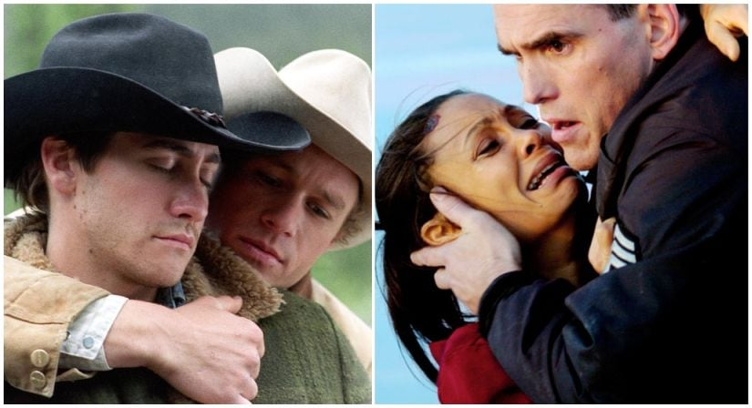 Crash (R) beat Brokeback Mountain to the best picture Oscar in 2006