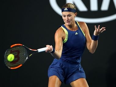 St Petersburg Ladies Trophy: Defending champion Kristina Mladenovic sets up title clash with Petra Kvitova