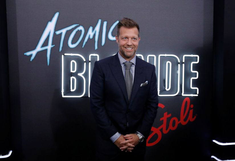 """Director of the movie David Leitch attends the premiere for """"Atomic Blonde"""" in Los Angeles, California, U.S., July 24, 2017. REUTERS/Mario Anzuoni - RC1A98323A30"""