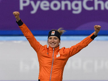 Winter Olympics 2018: Dutch dominate speed skating as Carlijn Achtereekte edges out Ireen Wust to claim gold