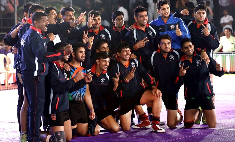 Services displayed great all-round game to win the Federation Cup Kabaddi tournament in Mumbai. Image Courtesy: Mumbai Upnagar Kabaddi Association