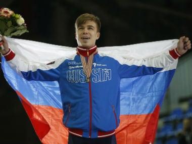 Russia's Semen Elistratov. Reuters