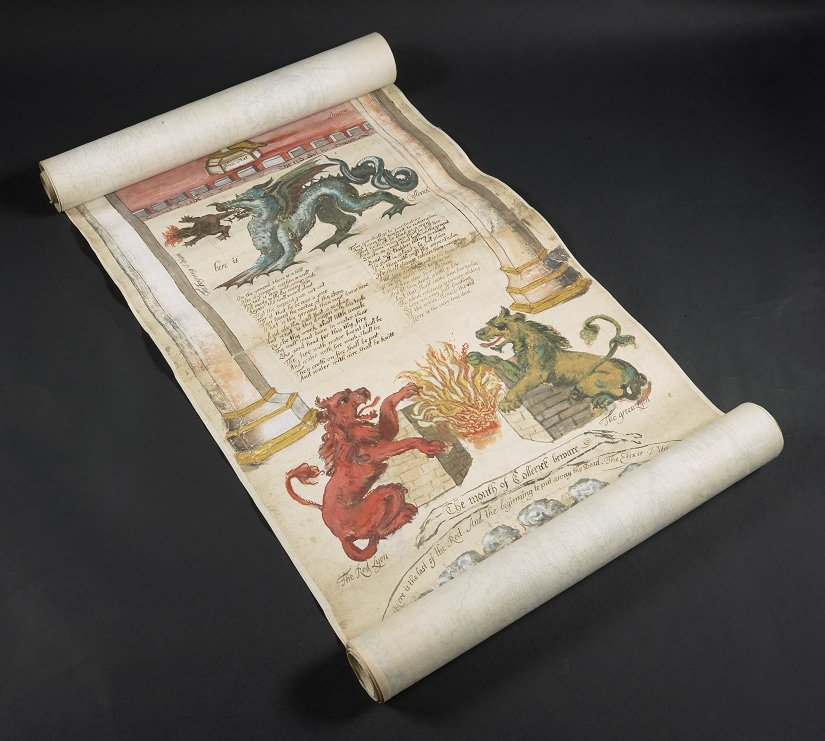 The Ripley Scroll, which describes how to make the fabled Philosopher's Stone