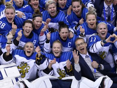 Winter Olympics 2018: Finland edge past Olympic Athletes from Russia to claim womens ice hockey bronze