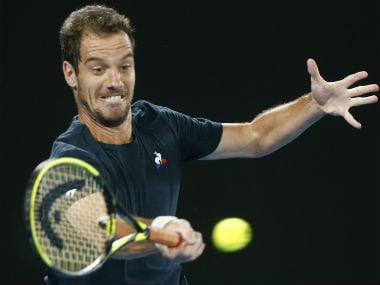 Richard Gasquet in action. Reuters