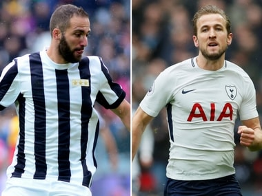 Harry Kane and Gonzalo Higuain, two of the best strikers in European football, will be up against each other. Reuters