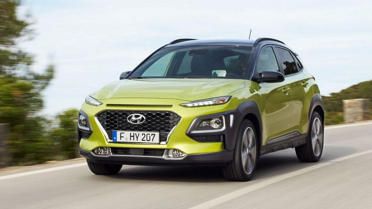 The Hyundai Kona could be Hyundai's first electric car to be launched in India next year. Image: Hyundai