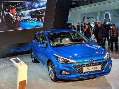 2018 Hyundai Elite I20 At The Auto Expo
