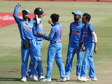 India produced a clinical performance at Durban to go 1-0 in the six-ODI series. AFP