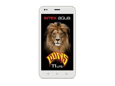 Intex launches Aqua Lions T1 Lite with 1 GB RAM and Android 7.0 Nougat for Rs 3,899 in the Indian market