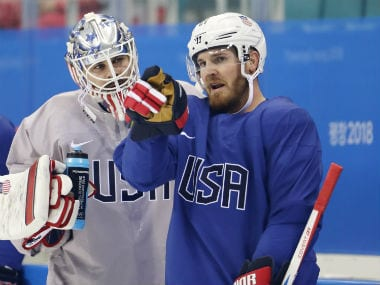 Winter Olympics 2018: US ice hockey player James Wisniewskis father quarantined after contracting norovirus