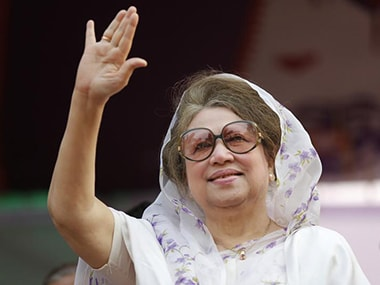 File image of Khaleda Zia. Reuters