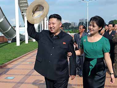 File image of North Korea's Kim Jong-un. AP