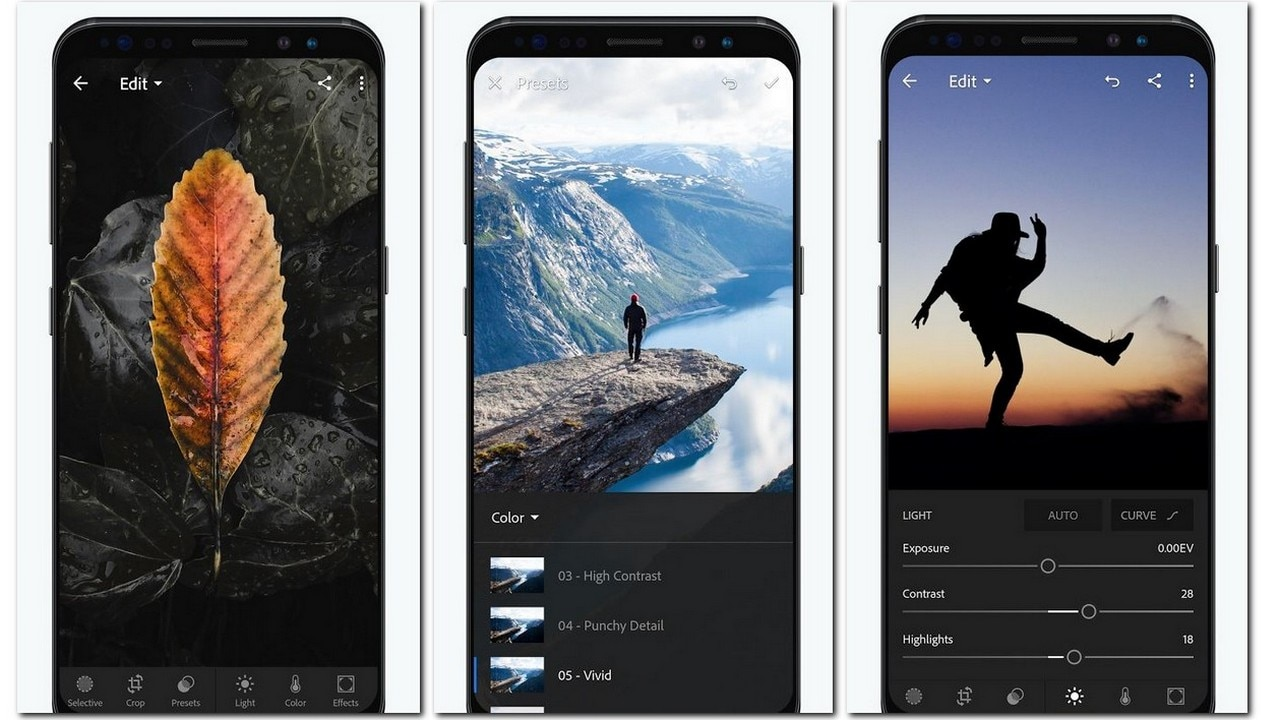 Lightroom for Mobile. Image: Google Play Store