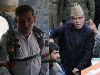 File image of Arun Marwaha and Akbar Lone. PTI/Facebook