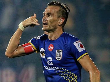 ISL 2017-18: Lucian Goians last-minute strike guides Mumbai City FC to thrilling 3-2 win over NorthEast United FC