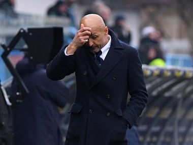 Inter Milan coach Luciano Spalletti. Reuters
