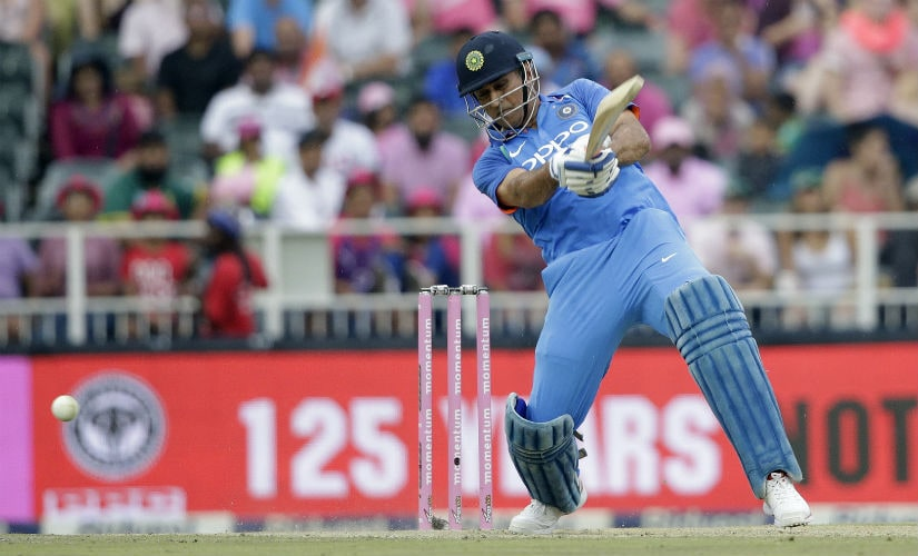 MS Dhoni has been the leading run-scorer in the Indian middle-order since the Champions Trophy. AFP