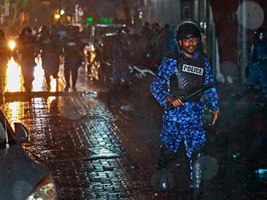 File image of Maldives police. PTI