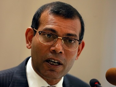 File image of Mohamed Nasheed. Reuters