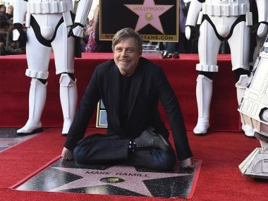 Mark Hamill, who played Luke Skywalker in Star Wars franchise, honoured on Hollywood Walk of Fame