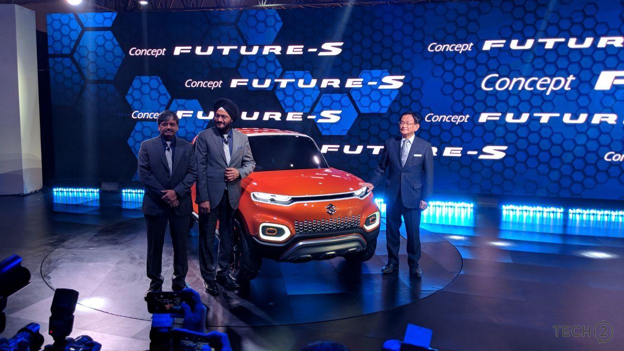 Maruti Suzuki Concept Future S at the Auto Expo 2018