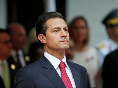 File image of Mexico's president Enrique Pena Nieto. Reuters