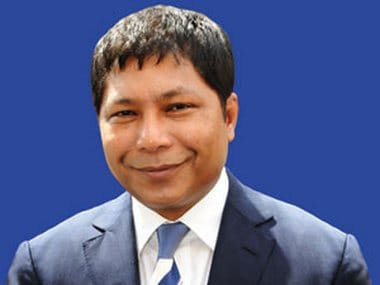 File image of Meghalaya Chief Minister Mukul Sangma. Image courtesy: megipr.gov.in