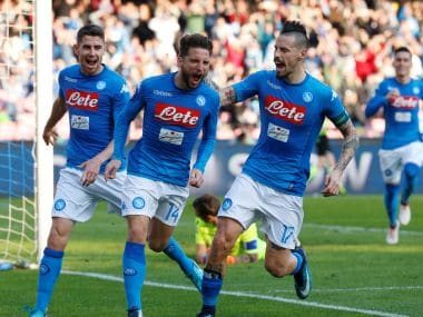 Napoli continue to defy expectations as they look to stay on course to claim their first Serie A crown in 28 years. Reuters