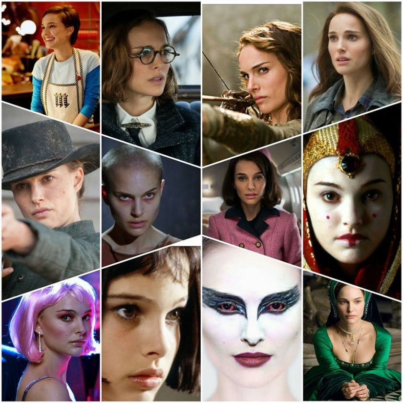 The many faces of Natalie Portman. Image via Facebook