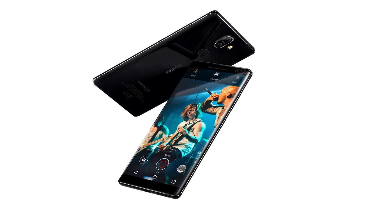 The Nokia 8 Sirocco. Nokia Mobile.