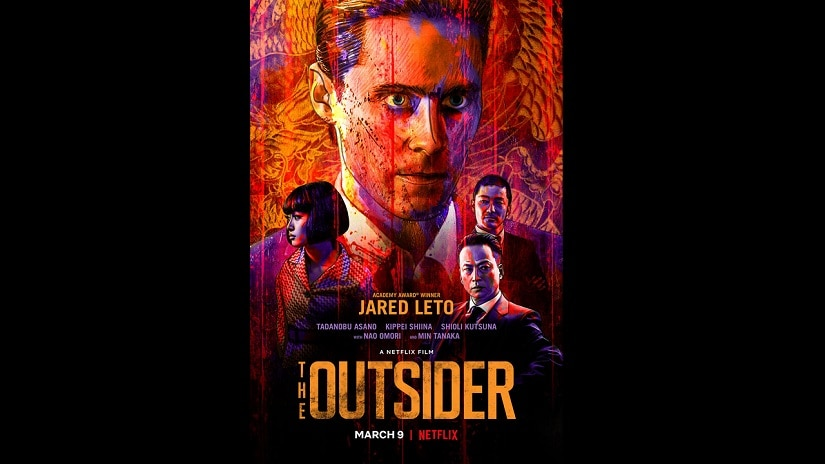 Poster for The Outsider. Netflix