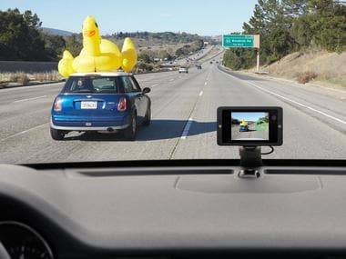 Owl car dashboard-mounted security camera. Image: Owl