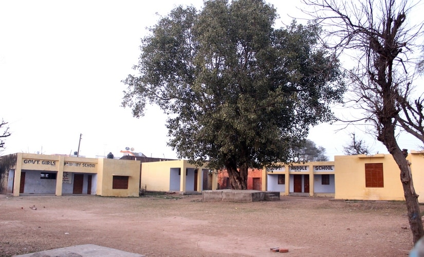 A closed government middle school in Samba district in Jammu. Firstpost