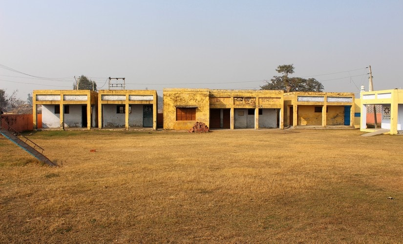 A primary school in Jora Farm village this school has remained largely closed after the tension escalated. It falls few hundred meters from the International Border. Firstpost