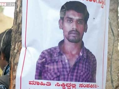 Karnataka Police had put out posters of serial killer Psycho Shankar after his escape from prison. News18