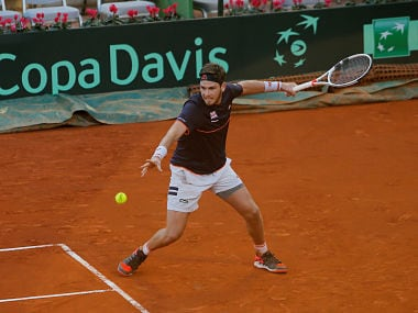 Davis Cup: Britain's Cameron Norrie stuns Spain's Roberto Bautista Agut; France level at 1-1 against Netherlands