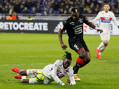 Ligue 1: Lyon slump to fourth place after controversial home defeat to Rennes