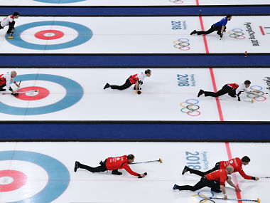 Curlers are more likely to accused of being out of shape than taking drugs to improve their strength or power. Reuters