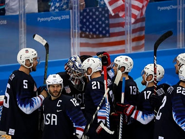 Winter Olympics 2018: USA ride on Ryan Donato, Ryan Zapolskis heroics to thrash Slovakia in ice hockey quarter-finals